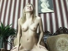 Old Handicapped guy ravages sexy blonde ultra-cutie