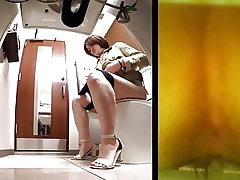 Japanese rest room Voyeur
