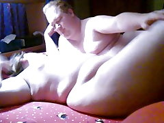 BBW and BHM having some fun in the room