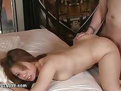 Lil' Asia Zo Gets Wet Poon Pounded By Eric John!