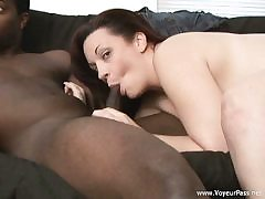 Bi-Racial hook-up after douche