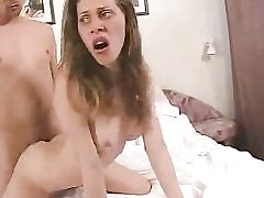 Junior babe getting fucked doggy and old school