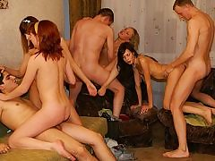 Indeed mind-deep deepthroating gang-fuck soiree romp sequence