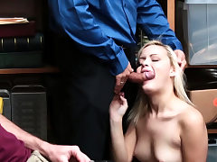 Brief hair blond babe and mature gloryhole fuck Suspect